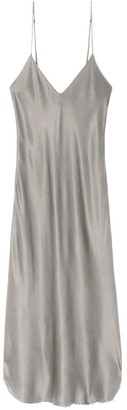 Nili Lotan Short Cami Dress in Cement
