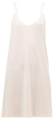 Skin Pima Cotton Jersey Slip Dress - Light Pink