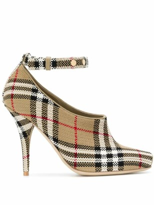 Burberry Blyth ankle-strap pumps