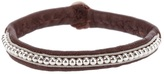 Hanna Wallmark leather bracelet