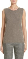 Lafayette 148 New York Women's Chain Detail Cashmere Shell