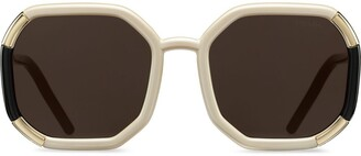 Prada Runway oversized-frame sunglasses