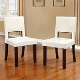 Linon Vega Dining Chair 2-piece Set