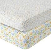 Babies 'R' Us Babies R Us Sateen Crib Sheet 2 Pack - Safari
