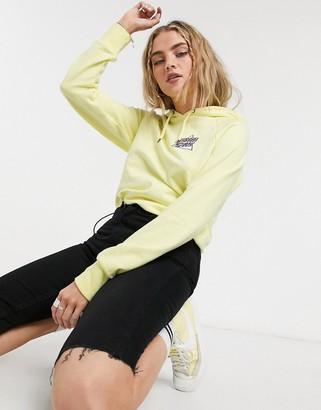 Santa Cruz not a dot hoodie in pastel yellow
