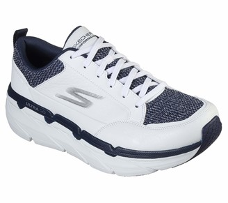 Skechers Men's Max Cushioning Premier Prevalence-Premium Leather Walking & Running Shoe Sneaker