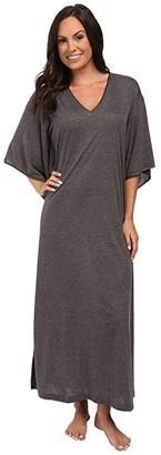 N by Natori Congo Caftan (Heather Grey) Women's Robe