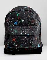 Mi-Pac Backpack with Splatter Print