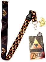 Bioworld Nintendo Zelda Shield Lanyard With Metal Charm