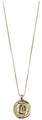 Pilgrim Necklace : Feelings Of L.A. : Gold Plated : Crystal