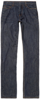 Valentino Contrast Cotton Straight Leg Jeans