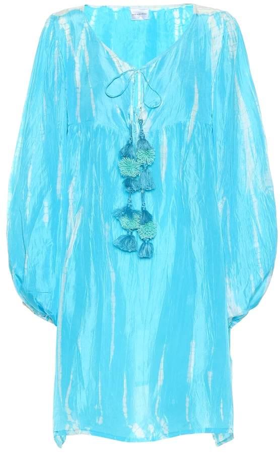 Anna Kosturova Exclusive to Mytheresa tie-dye silk dress