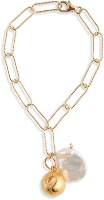 Alighieri Moon Fever Freshwater Pearl Bracelet