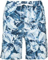 Onia Banana leaf Charles trunks 7 - men - Polyester - L