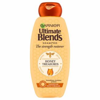 Garnier Ultimate Blends Honey Strengthening Shampoo 360ml