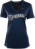 Nike Women's Milwaukee Brewers Legend Dri-FIT T-Shirt