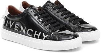 Givenchy Urban Street patent leather sneakers