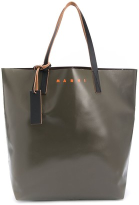 Marni Logo Tote Bag