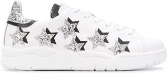 Chiara Ferragni Roger Star Glitter low-top sneakers