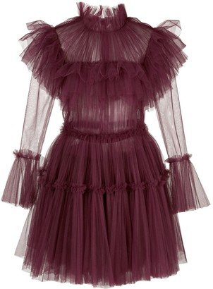 KHAITE Paula ruffled dress