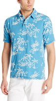 Margaritaville Men's Short Sleeve Tropical Polo