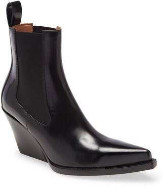 Bottega Veneta Lean Pointed Toe Chelsea Boot