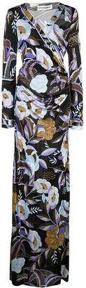 Leonard floral maxi dress