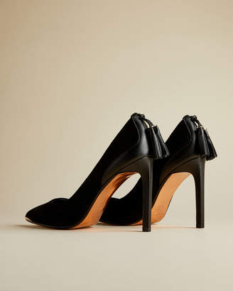 Ted Baker SEMARAA Suede tassel courts