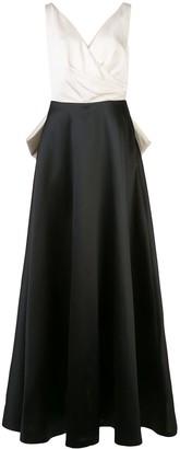Sachin + Babi Cleo wrap gown