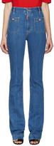 DSQUARED2 Blue Flared Iza California Jeans
