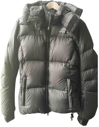 Kappa Black Polyester Coats