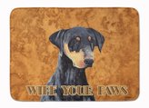 "Caroline's Treasures SC9126RUG ""Doberman Wipe your Paws"" Floor Mat"