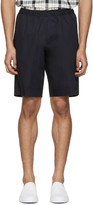 Our Legacy Navy Relaxed Shorts