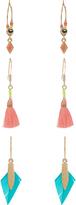 Accessorize 3x Festival Hoop Earrings Set