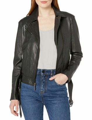Kenneth Cole New York Kenneth Cole Women's Classic Moto Jacket