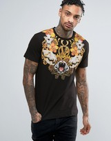 Versace T-shirt With Skull Print