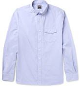 Todd Snyder Slim-fit Button-down Collar Cotton-poplin Shirt