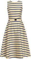 Emily Lovelock - Striped Cotton Dress