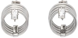 Panconesi Silver Small Solar Earrings