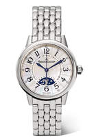Jaeger-LeCoultre JaegerLeCoultre - Rendez-vous Night & Day 29mm Stainless Steel, Diamond And Mother-of-pearl Watch