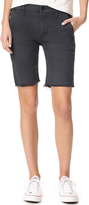 Mother Vagabond Prep Fray Shorts
