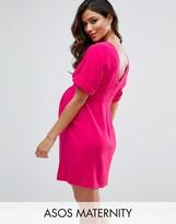 Asos Smart Mini Dress with V Back