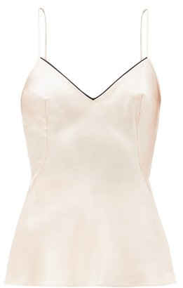 Agent Provocateur Classic Silk-satin Camisole - Light Pink