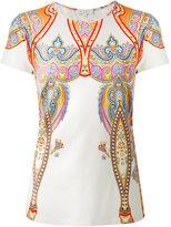 Etro Persian print T-shirt - women - Spandex/Elastane/Viscose - 46