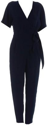 P.A.R.O.S.H. Belted V-Neck Jumpsuit