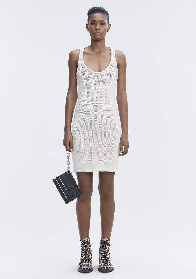Alexander Wang KNIT TANK DRESS Short Dress