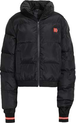 P.E Nation Striped Quilted Shell Down Jacket