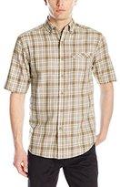 Wolverine Men's Berkhart Short Sleeve Twill Shirt