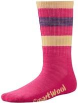 Smartwool Striped Hiking Socks - Merino Wool, Crew (For Little and Big Kids)
