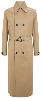 Bottega Veneta Cotton Gabardine Trench Coat
